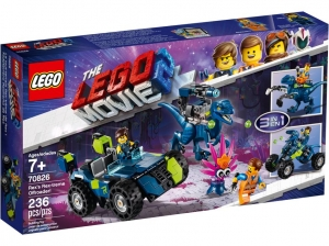 70826 LEGO MOVIE Terenówka Rexa