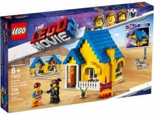 70831 LEGO MOVIE Dom Emmeta/Rakieta ratunkowa