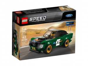 75884 LEGO SPEED CHAMPIONS FORD MUSTANG FASTBACK Z 1968r.