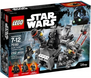 75183 LEGO STAR WARS TRANSFORMACJA DARTHA VADERA