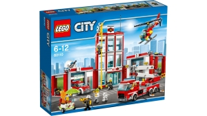 60110 LEGO CITY REMIZA STRAŻACKA