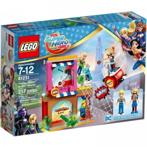 41231 LEGO SUPER HERO GIRLS HARLEY QUINN NA RATUNEK