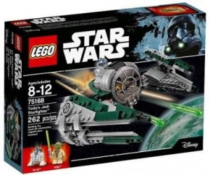 75168 LEGO STAR WARS JEDI STARFIGHTER YODY